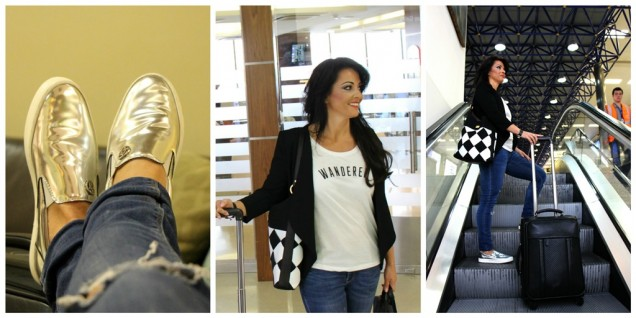 Airport Outfit Blog Grazielle Camilleri