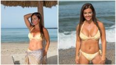 yellow bikini Grazielle Camilleri