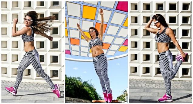 Ana Klaro fitness wear