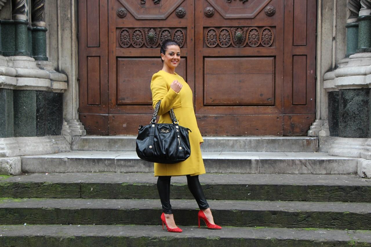 Grazielle Camilleri yellow coat  3B