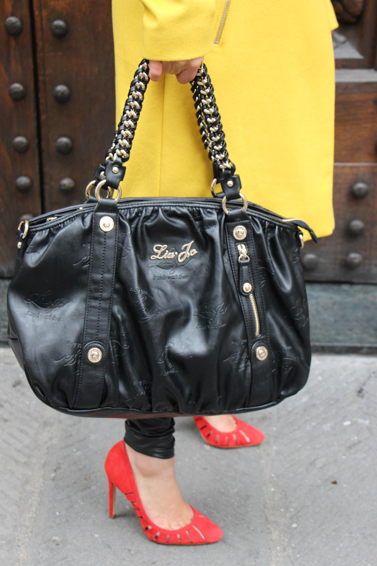 Grazielle Camilleri yellow coat 6