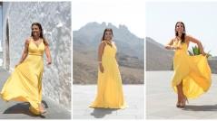 Yellow Dress Grazielle Camilleri