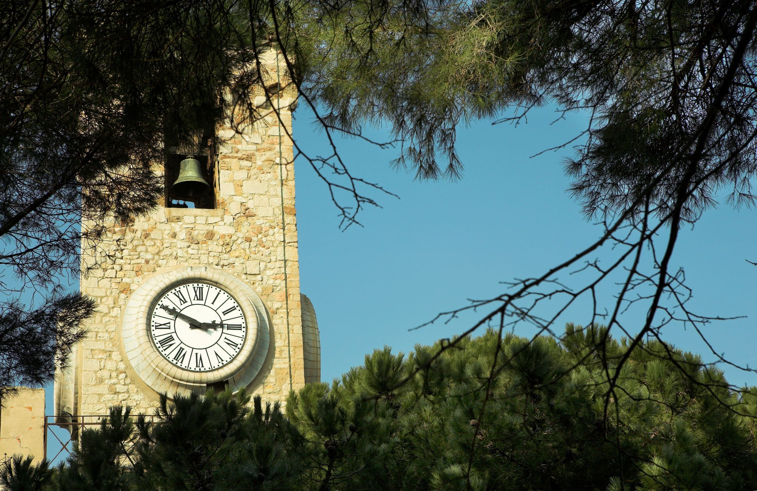 Cannes-Suquet-Clock-Tower