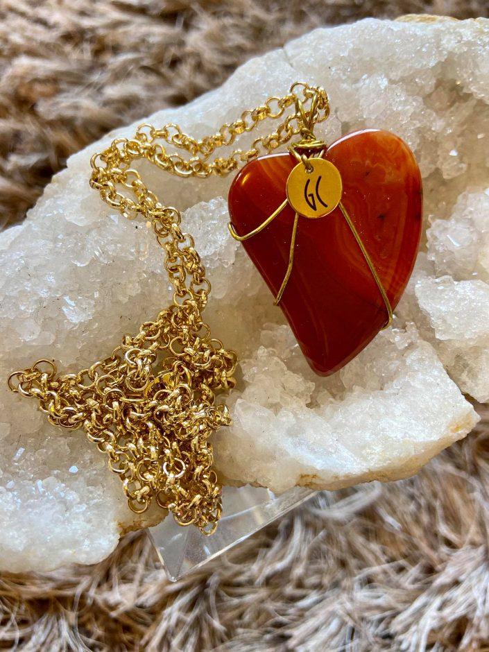 Graz_Carnelian Heart Pendant